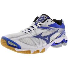 Mizuno Womens Wave Bolt 6 White Volleyball Shoes 10 Medium (B,M) BHFO 8710