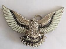 Buckle Gürtelschnalle Adler Flying Eagle mit Strasssteine Biker Women Man