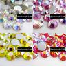 non hotfix AB rhinestones crystal flatback 3d nail art stones tips decoration