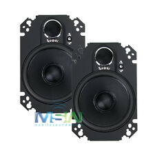 "INFINITY KAPPA 462.11cfp 4"" x 6"" 2-Way CAR AUDIO PLATE SPEAKERS SYSTEM 4x6 PAIR"