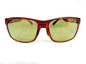 maui jim Red Sands mj432-10m Polarized brown brown tortoise grey metallic lens