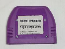 Cosmic Spacehead Sega Genesis Prototype Game Sample Test Demo Development Cart