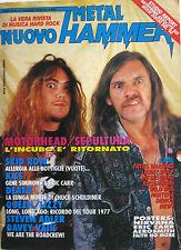 METAL HAMMER 2 1992 Sepultura Queen Kiss Skid Row Poison Idea Death Roadcrew