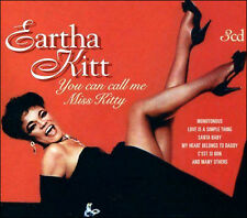 EARTHA KITT * NEW  3-CD BOX SET * 48 Original Recordings * CALL ME MISS KITTY