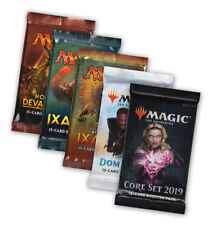 Magic the Gathering WELCOME-Set 5 Booster m19 Dominaria ixalan notamment MTG en