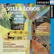 Villa-Lobos & Ginastera, Orchestral Works - Eugene Goossens (Everest CD)