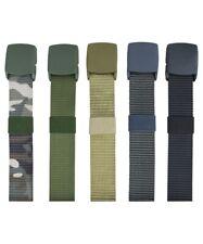 "Kombat Elite Belt ABS Plastic Buckle BTP (MTP Match) Black Tan Green Grey 50"""