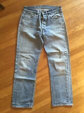 Vtg Rare Levi's Single Stitch 501 Not Big E Redline 501s Usa  33 33 Hige