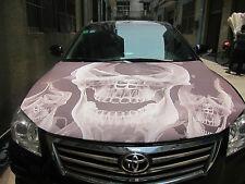 Skulls, Car Hood Cover, Auto Flag, Chroma Covers FPL