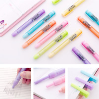 2*Creative Frosted Mechanical Pencil Erasers Kawaii Kids Gifts Novelty RubberNew