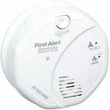 Combination Smoke & Carbon Monoxide Detectors Sco5Cn And Alarm, Battery Operated