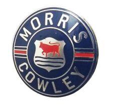 MORRIS COWLEY Radiator Badge 64mm Bullnose Flatnose Vintage Motor Car CAD