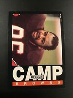 1985 Topps # 224 REGGIE CAMP ROOKIE RC Cleveland Browns Qty Avail