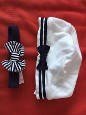 Pumpkin Patch Baby Sailor Beanie/hat Brand New