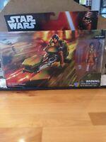 Star Wars Rebels Ezra Bridger's Speeder New In Box with Action Figure Unopened