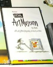 Pearson Virtual Art Museum CD-ROM NEW/sealed, see pics free ship