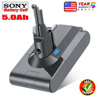 For Dyson V8 21.6V 5.0Ah Battery Animal Absolute Handheld Vacuum Cleaners SV10