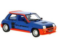 Burago Renault 5 Turbo S.Collection Blue&Red sealed Miniature Die-cast car 1:24