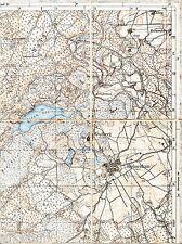 Sachsenkam Reutberg 1910 Teilkarte/Ln. Kirchsee Kurzenberg Babenberg Grasberg