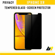 New Anti-Spy Privacy Tempered Glass 9H Hard Screen Protector For Apple iPhone XR