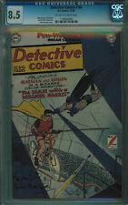 DETECTIVE COMICS #166 CGC 8.5 3RD BEST CGC COPY OW-W PGS 1950