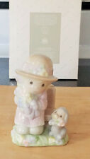 "Precious Moments Salt & Pepper Shaker Set ""Seasoned With A Smile"" By Avon Nib"