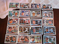 1989 MLB TOPPS BIG BASEBALL CARDS  LOT OF 20