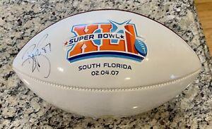 2007 Reggie Wayne Indianapolis Colts Signed Autographed SuperBowl XLI Football