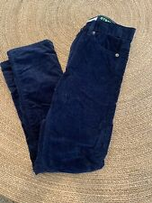 J.crew Crewcuts Blue Lined  Cords Size 8