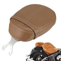 For Indian Motorcycle Desert Tan Leather Passenger Pillion Rear Seat Scout Sixty