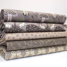 FQ Bundle - Enchanted Forest - Chocolate x 5 - Cotton Fabric Patchwork Quilting