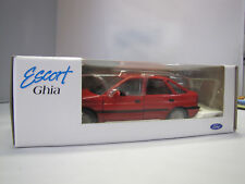 Nº 20010 LH Schabak-ford escort ghia 1:24 made in West Germany-rojo -