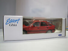 No. LH 20010 SCHABAK-Ford Escort Ghia 1:24 Made in West Germany-Rouge -