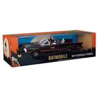 DC Comics Batman Classic TV Series Batmobile, Batman And Robin Action Figures