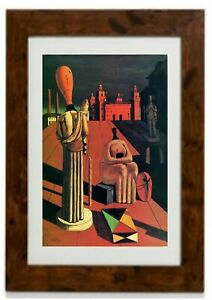The Disquieting Muses Framed Print by Giorgio de Chirico
