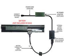External Laptop Battery Charger for HP ProBook 440 445 450 455 470, 707616, FP06