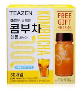 TEAZEN Kombucha Lemon powder 30 sachets with a free bottle BTS Jungkook