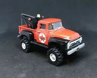 1956 Ford Tow 4x4 Lifted Custom 1/64 Diecast Truck Farm Off Road 4WD Mud F-100