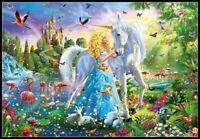 The Princess and the Unicorn - Chart Counted Cross Stitch Pattern Needlework