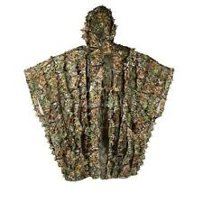 3D Breathable Camouflage Ghillie Sniper Poncho Suit Kit/Cloak/Manteau Solid Mesh