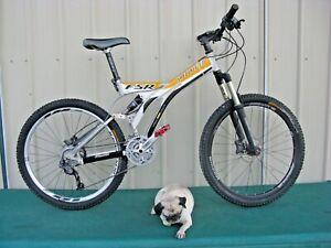 1999 Specialized FSR Elite Full Suspension Mountain Bike 17.5 Medium Upgrades
