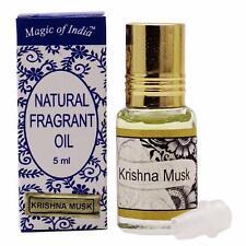 Magic Of India KRISHNA MUSK Fragrant Oil in Roll on Bottle - 2x5ml