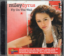 MILEY CYRUS. FLY ON THE WALL. BRAND NEW CD SINGLE. WITH POSTER
