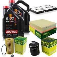 MOTUL 9 L 5W-30 MOTOR-ÖL+MANN-FILTER Mercedes-Benz V-Klasse 638/2 V 200 CDI 220