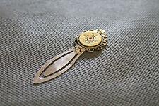 20 Gauge Shotgun Shell Silver Head Bookmark; Shooting Sports