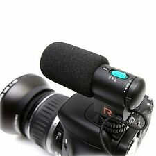 MIC-109 DV/Camera Stereo Microphone for Canon Nikon Pentax DSLR Camera Camcorder