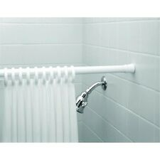 Shower Curtain Liner Tension Rod Hook Bath Set