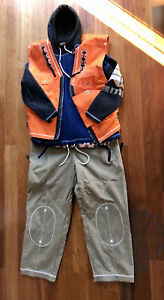 Unikat! Snowboardanzug Adidas, ca. 40 Jahre alt