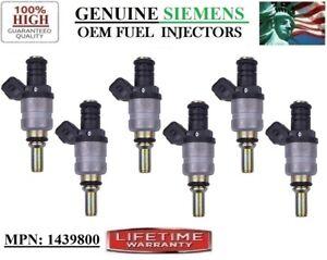 NEW Set/6 Fuel Injectors for SIEMENS 2001-2006 BMW X3-X5-Z3-Z4-330i-530i 3.0L I6