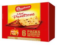 Mini Panettone Bauducco( Pack 6) NET WT 21.01 oz